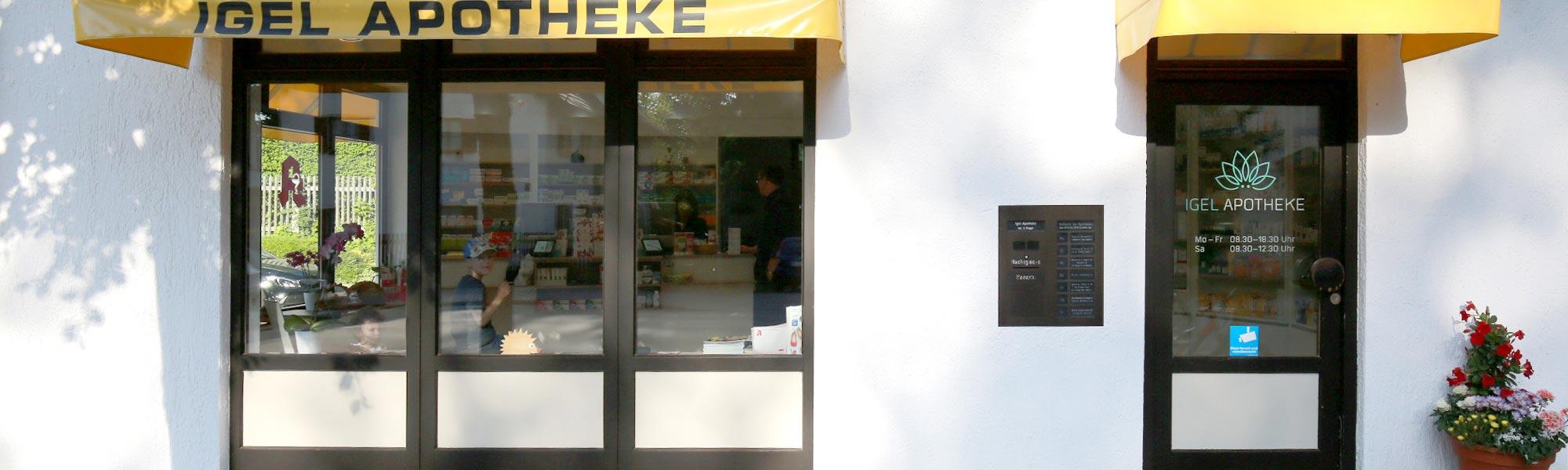 Igel Apotheke | Eingang