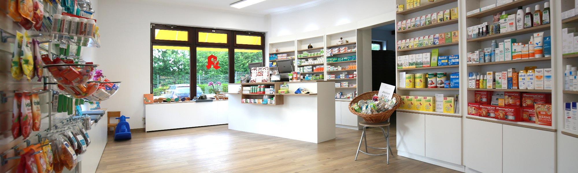 Igel Apotheke | Der Verkaufsraum